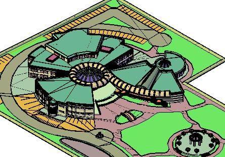 Islamisches Zentrum, in Erholungszentren und Parks – Projekte