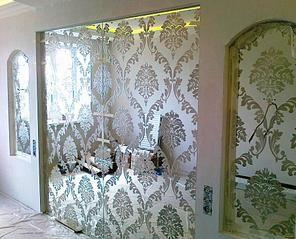899 X 728 117.9 Kb Зеркальная плитка. Зеркала на стены и потолок.