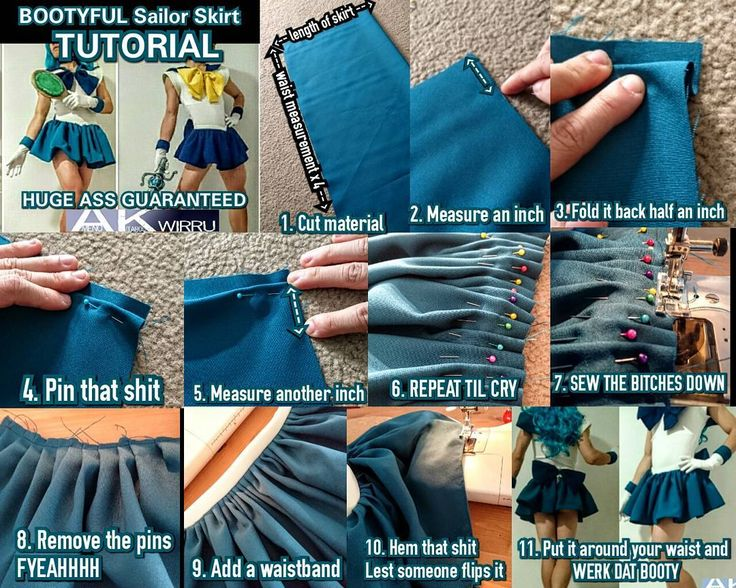 #TutorialTuesday time <3  This week is a rare SEWING tutorial - BOOTYFUL SAILOR SENSHI SKIRTS!  This is how I made my Neptune and Uranus skirts to manipulate my bootay proportions.  This method is great for making skirts with some fluff and volume on character designs that don't call for a petticoat.  Enjoy! Werk dat bootay  Please feel free to comment share or ask questions <3  #sewing #tutorial #cosplay #skirt #sailormoon by amenokitarou