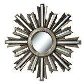 Found it at Wayfair - Deco Sunburst Wall Mirror