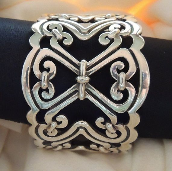 SIGNED TAXCO MEXICO Vintage Heavy Sterling by VisionsReVamped, $395.00