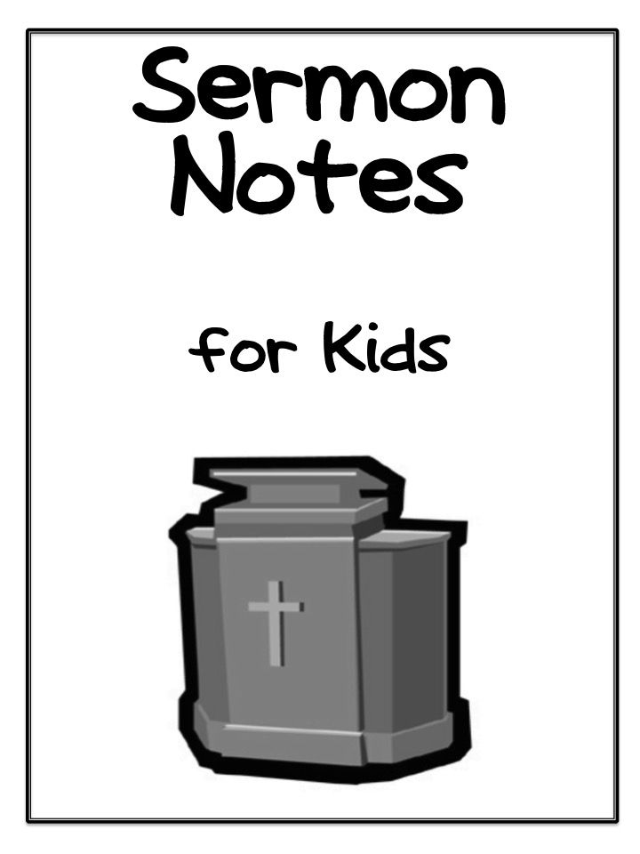 Sermon For The Feast Of St Michael All Angels: 17 Best Images About Sermon Notes For Kids On Pinterest