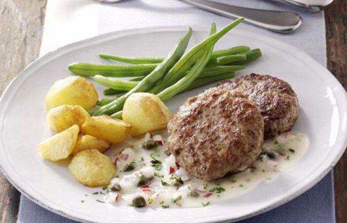 Beefsteak mit feiner Sauce