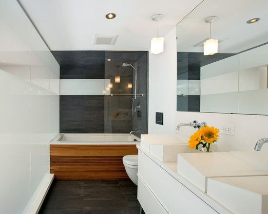 Modern Bathroom With White Unique Sinks Sloping Style Ideas Also Faucet Design