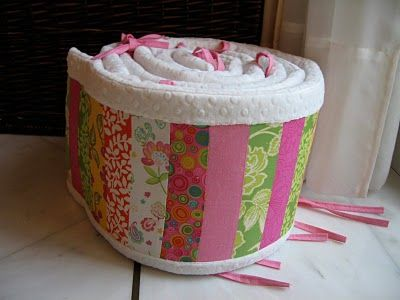 Quilted Crib Bumper Tutorial