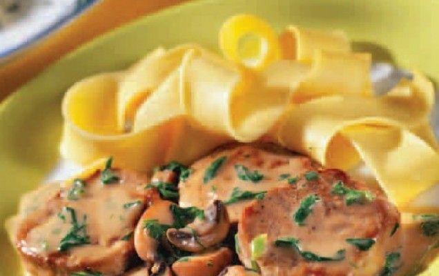 Ψαρονέφρι με ρόκα και κρέμα μουστάρδας - iCookGreek