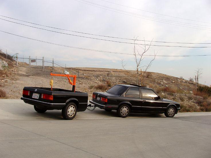 BMW 3  #remorque #voiture #trailer #car : http://remorques-discount.com/fr/