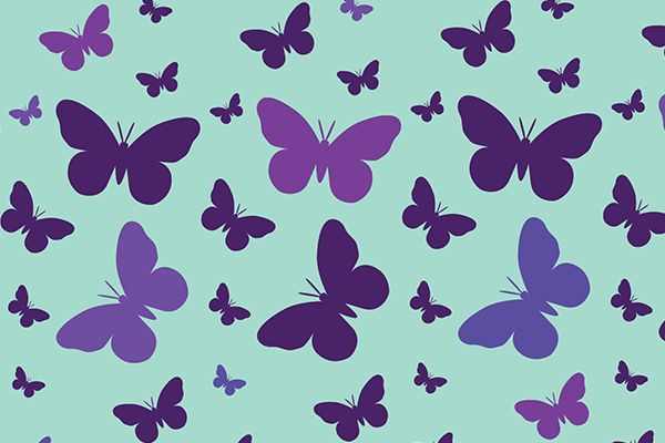 Papel deco: Mariposas