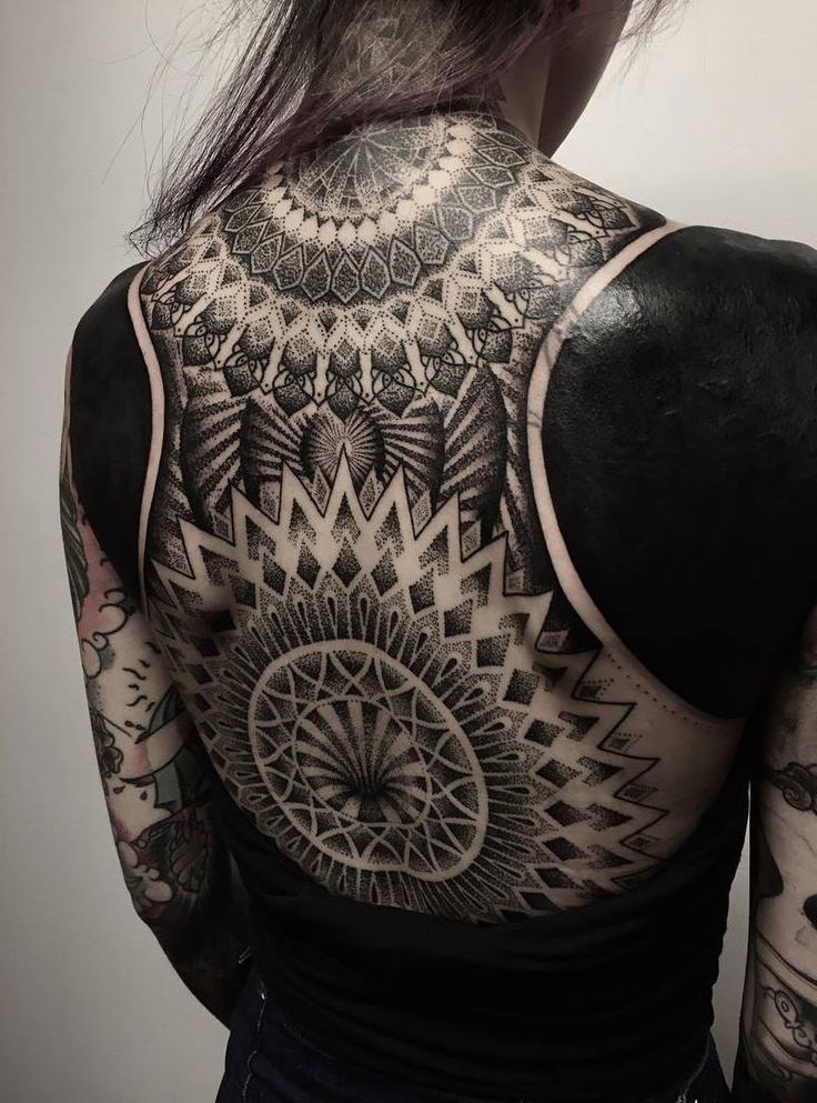 Insta: mandalakitten ♡   http://mandalakitten.blogspot.co.uk      Dotwork Black Grey Ink Only White Mandala Mendhi Spiritual Tibetan Artwork Original Tattoo Tattoos Sleeve Sleeves Full Body Blackout Lotus Peace Symbols