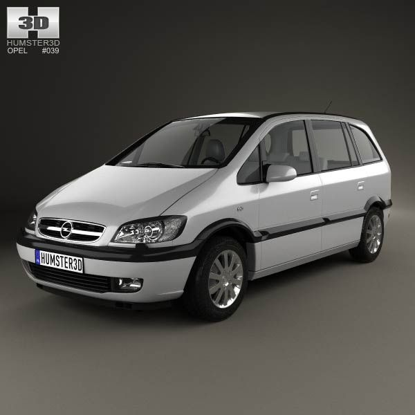 3D model of Opel Zafira (A) 2000 for $75 from humster3d.com
