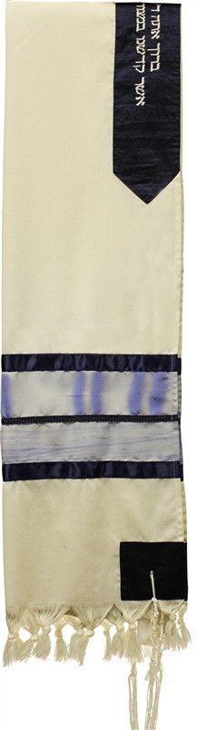 Tallit Wool - Painted
