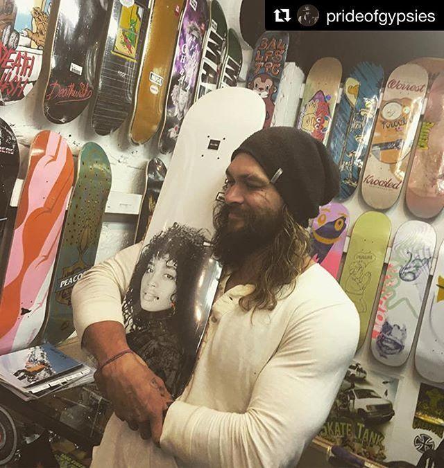 #Repost @prideofgypsies ・・・ Wife skateboard love