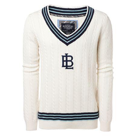 BONDELID - Ludvig cricket sweater #MQ #Mqfashion