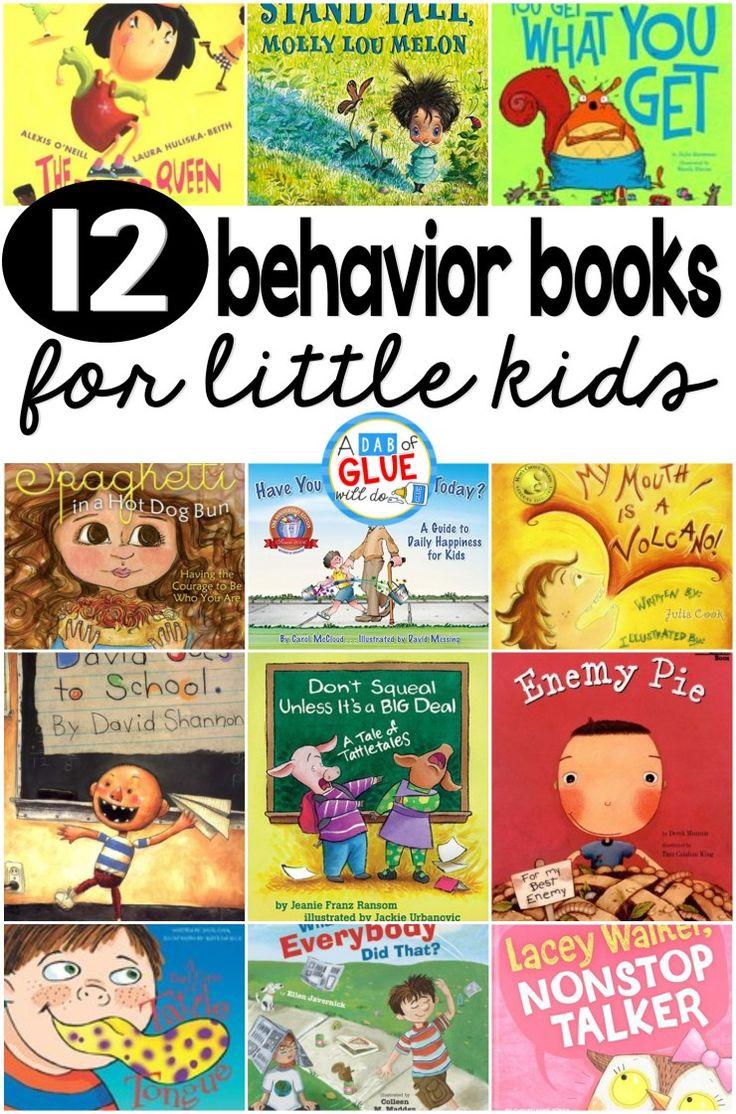 12 behavior books for little kids - A Dab of Glue Will Do