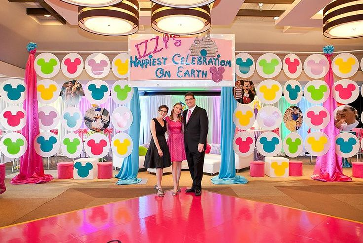 Disney-themed Bat #Mitzvah at The Seagate Country Club in #DelrayBeach #Florida Photo credit: wendyjstudios.com   www.TheSeagateHotel.com