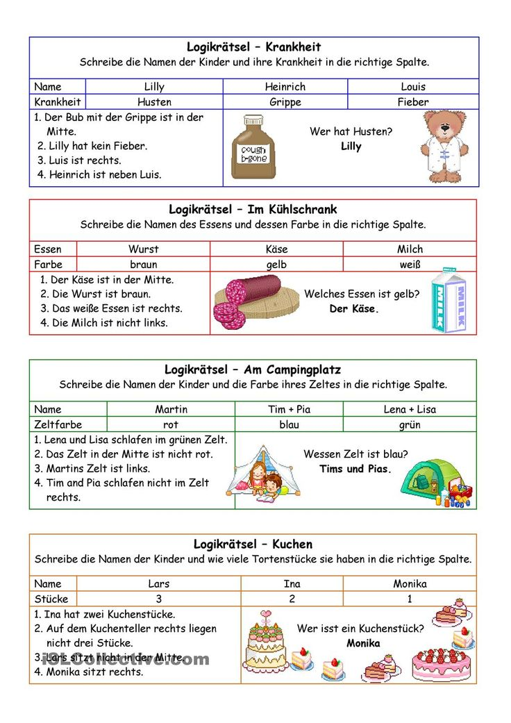 Logikrätsel 02 (+Lösung)