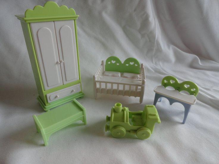Seven Towns 5 Piece Nursery Dollhouse Furinture | eBay