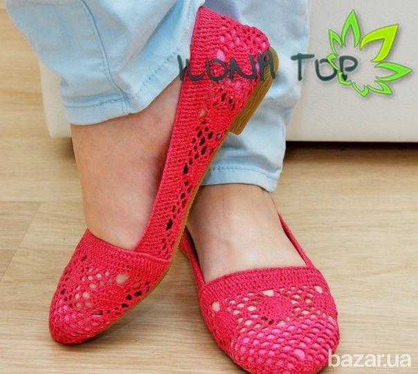Продам красные балетки! - Женская обувь Люботин на Bazar.ua