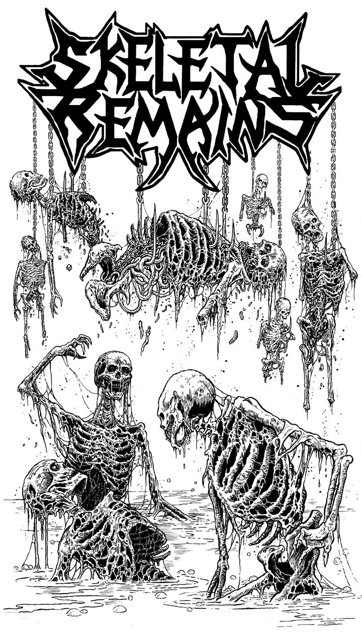 Riddickart In 2020 Metal Drawing Heavy Metal Bands Art Metal Artwork