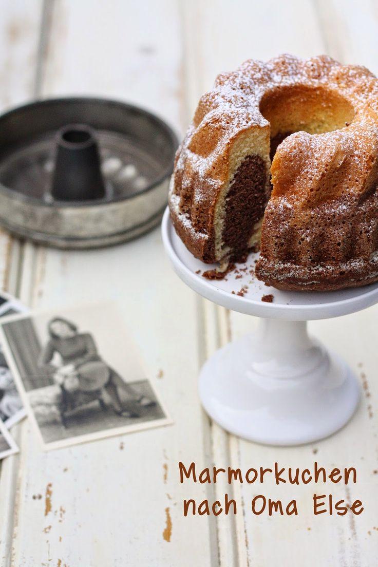 HerzStück: Mamorkuchen nach Oma Else #ichbacksmir #lieblingskuchen