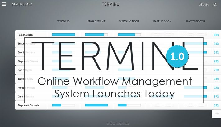 Great New Workflow Management System Launches Today – TERMINL