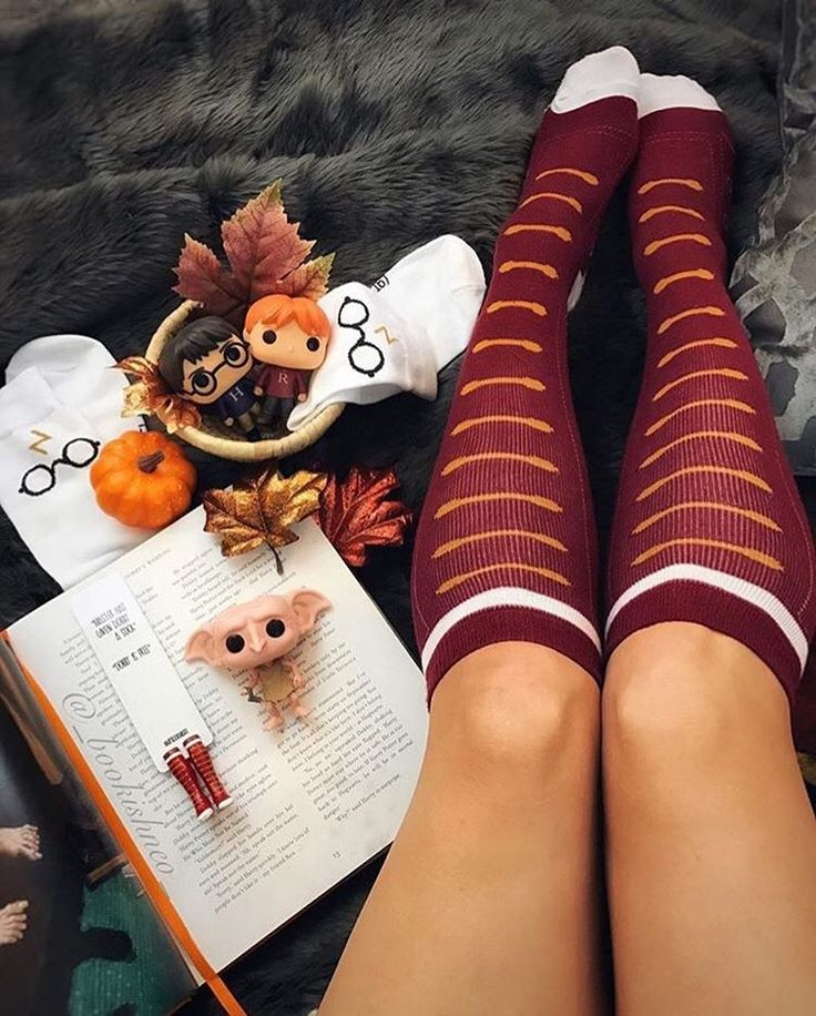 Autumn and Harry Potter