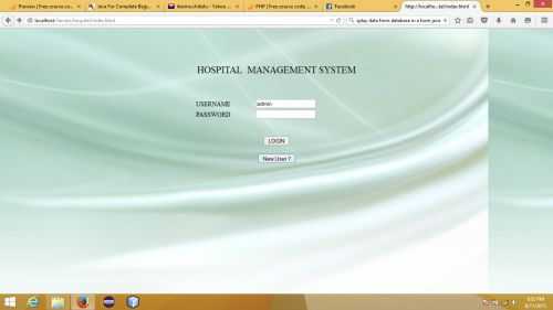 Hospital Management System in PHP | Free website templates and web ...