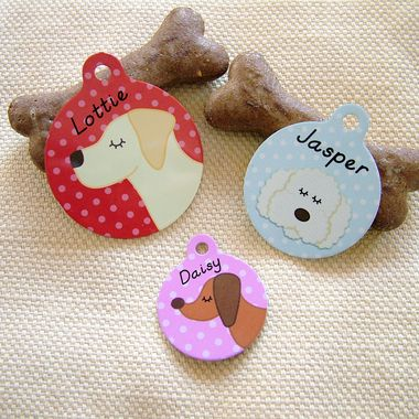 Our unique personalised custom Pet ID tags will help your Dog stand out from the crowd, new breeds are constantly being added to our range.