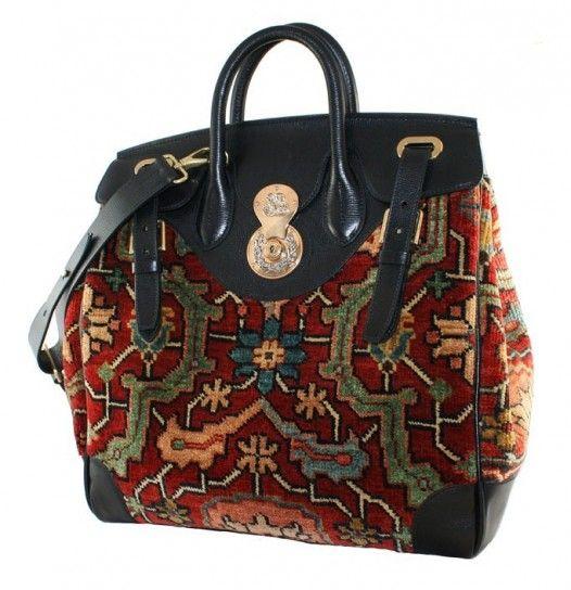 Ralph Lauren Handbags 2014 | Collezione borse Ralph Lauren Autunno Inverno 2013-2014 (Foto) | Bags