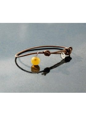 Health and Protection Amber and Sterling Silver Pendant on Sliding Leather. Buy @ http://thehubmarketplace.com/amber%20bracelet-black%20bracelet_black%20leather-%20sterling%20silver%20925%20bracelet