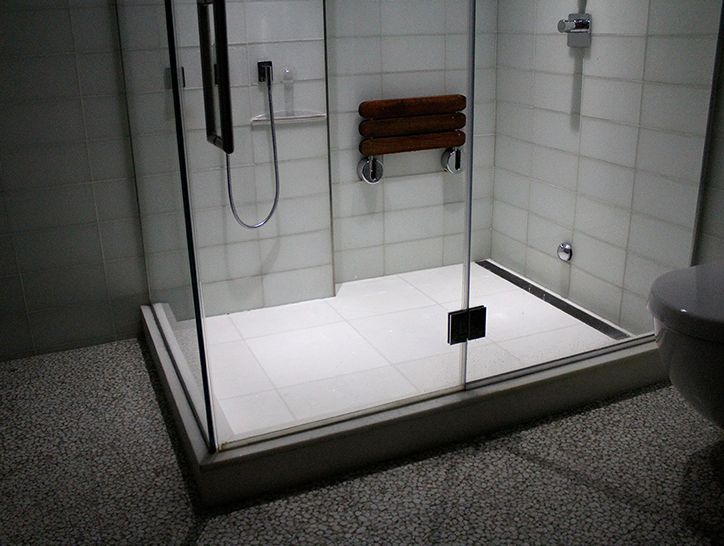 Join Channels And Grates Together To Create Installations As Long As  Necessary:   Showers