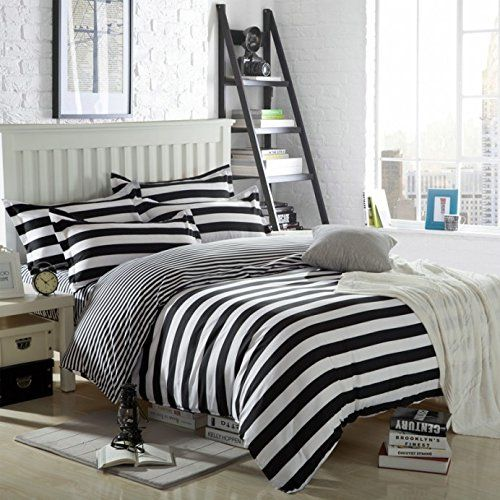 Black and White Bedding :http://www.easebedding.com/black-and-white-bedding