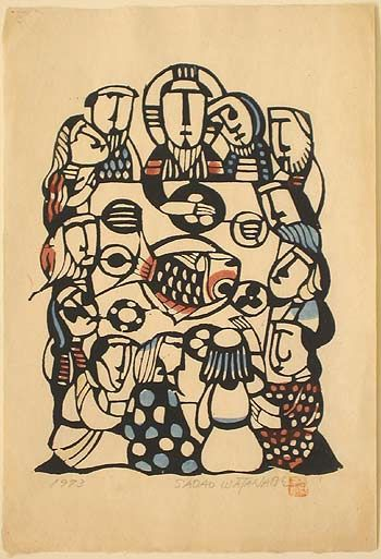 #thelastsupper The Last Supper, Sadao Watanabe, Japan