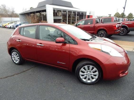Certified 2013 Nissan Leaf  Hatchback for sale near you in Midlothian, VA. Get more information and car pricing for this vehicle on Autotrader.