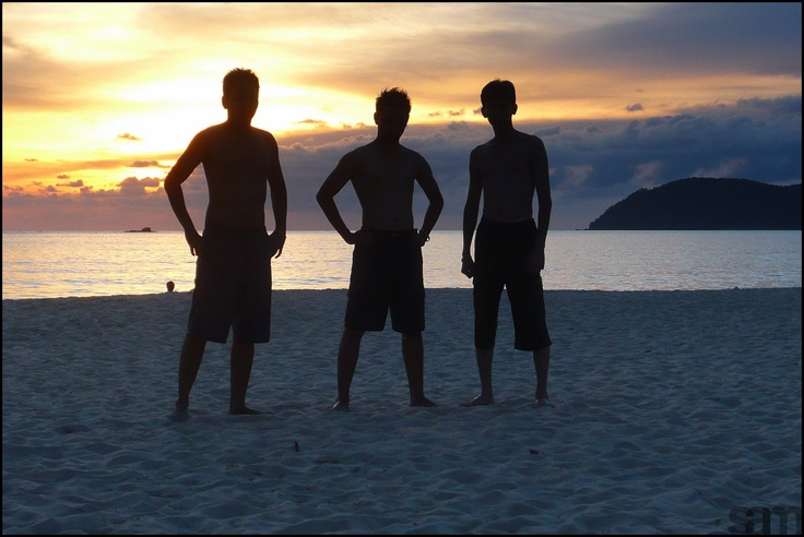 Hang out with bro Robert and bro Sandi in Langkawi Beach, Malaysia