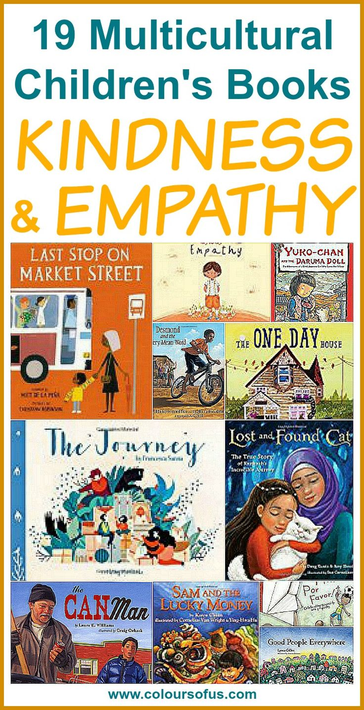Multicultural Children's Books teaching kindness and empathy, Ages 3 to 10 #kidlit #childrensbooks #diversebooks