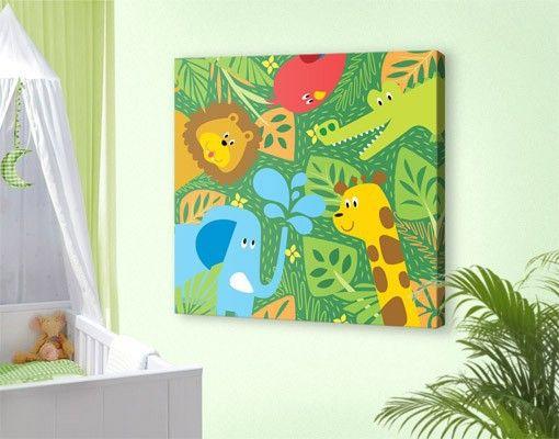 22 besten leinwandbilder canvas bilder auf pinterest for Kinderzimmer bilder tiere
