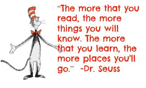 Easy Dr. Seuss Tee for Read Across America Day   Quotes ...