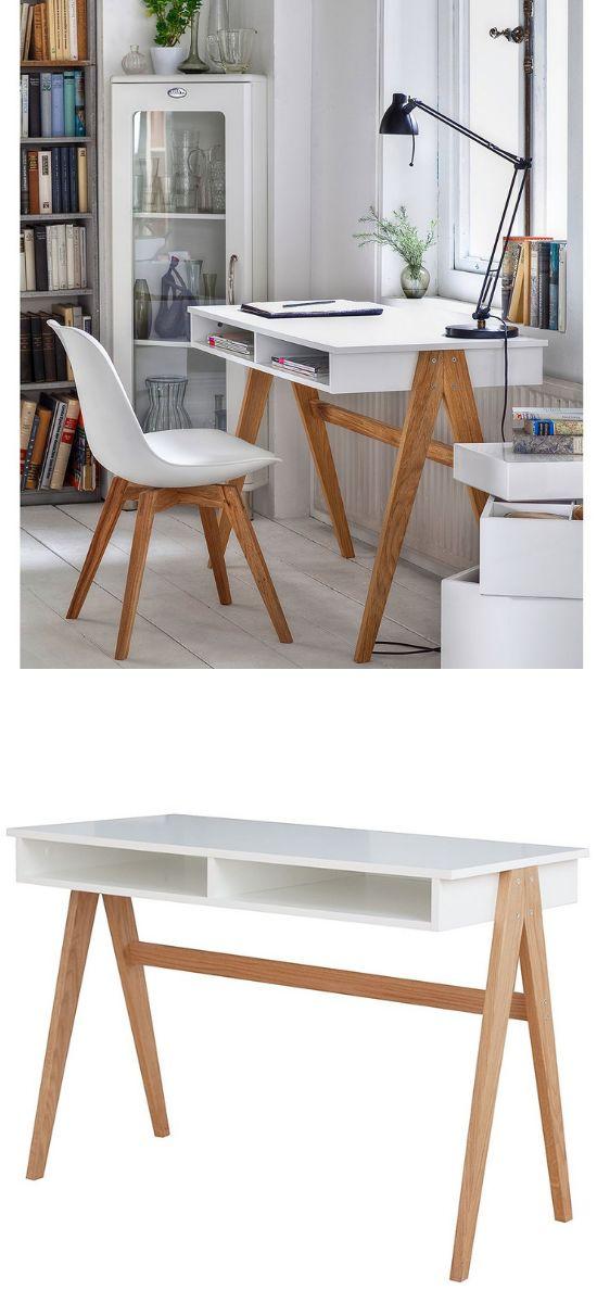 Arbeitsplatz – Schreibtisch einrichten im skandinavischen Stil