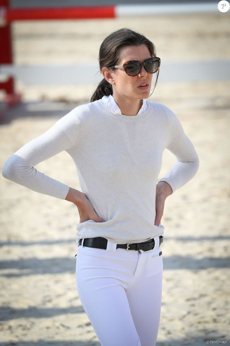 "Charlotte Casiraghi participe à l'épreuve ""Special Invitational 1m15"" lors du Longines Global Champion Tour dans le cadre du Jumping international de Monte-Carlo, le 25 juin 2016. © Bruno Bebert/Pool Monaco/Bestimage  Charlotte Casiraghi participates in the Special Invitational 1,15m competition during the Longines Global Champions Tour of Monaco, on June 25th 2016.25/06/2016 - Monte-Carlo"