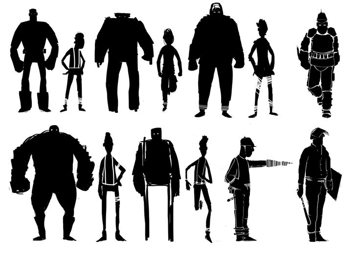 Character Concept Design Process : Best images about character silhouette on pinterest