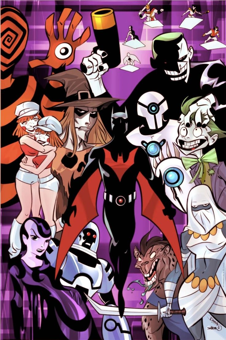 Batman Beyond's Rogues Gallery