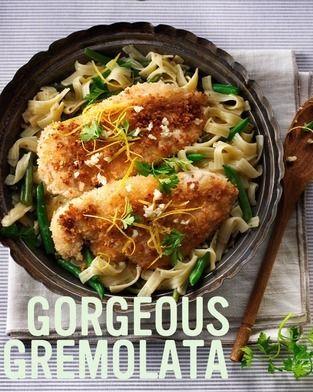 #Milan-inspired Gremolata Chicken Pasta #recipe.