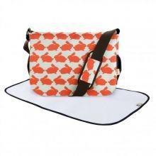 Τσάντα αλλαγής & στρωματάκι 'Κουνελάκια'