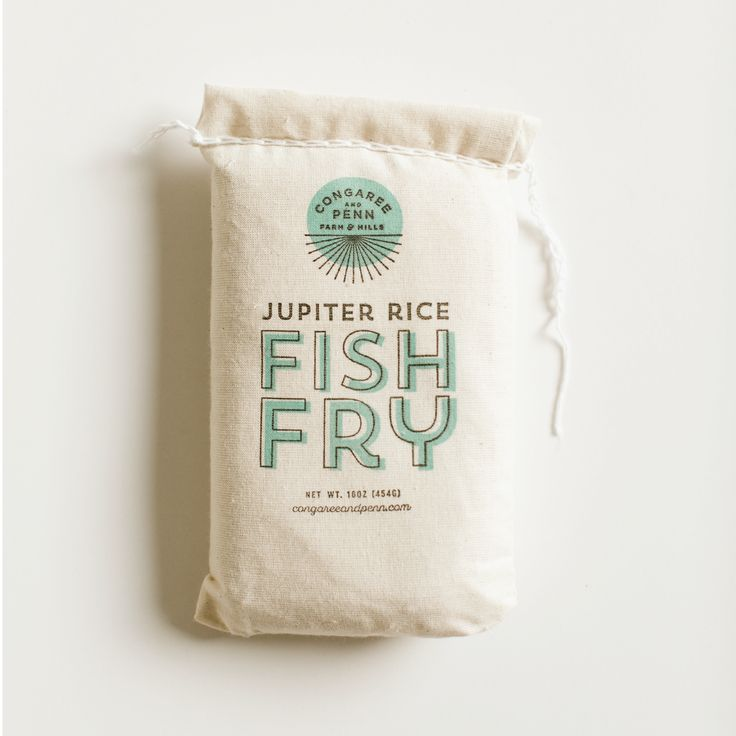 It's plain old rice flour, and we use it for our Congaree and Penn's famous Friday Night Fish Fry. It's ...