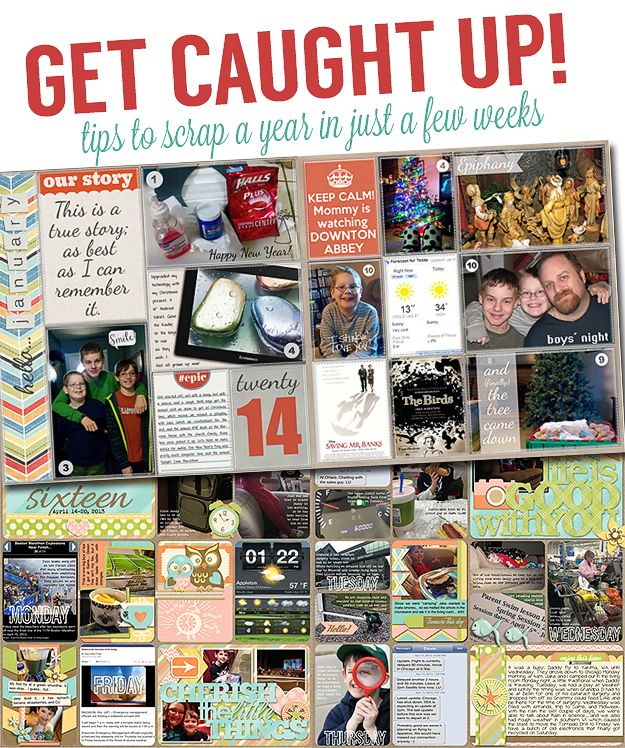 ScrapStacks: Project Life Get Caught Up: 10 Tips for Scrapping a Year Quickly
