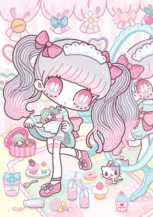Image Result For Anime Wallpaper Pastel