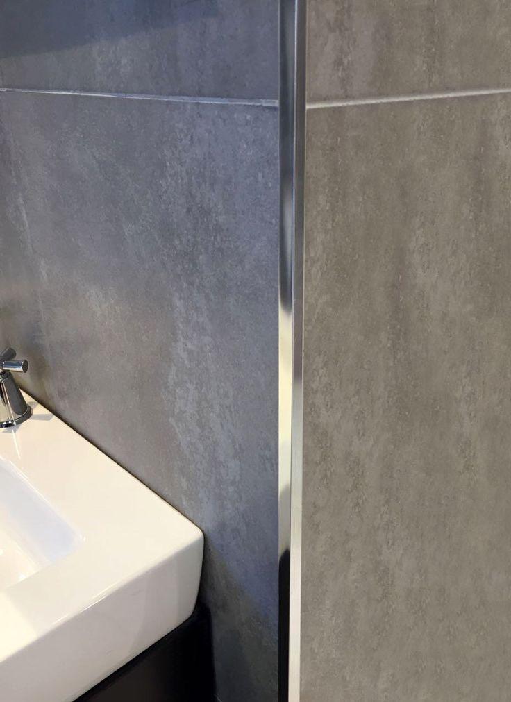 guardacanto quadra aluminio perfil de vista cuadrada que acompaa griferas y diseos rectos