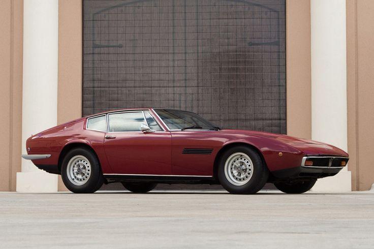 1971 Maserati Ghibli SS 4.9 coupe
