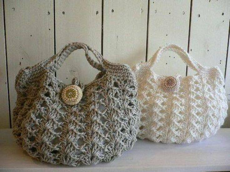 Bolsas tejidas a crochet pinterest imagui for Manualidades de ganchillo bolsos